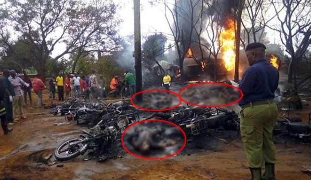 Yakıt tankeri patladı: 57 kişi yanarak hayatını kaybetti