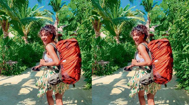 Hercai'nin Reyyan'ı Ebru Şahin sırt çantasıyla tatilde