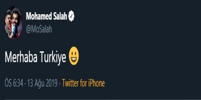 Salah'tan Türkiye paylaşımı