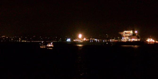 (ek bilgilerle yeniden) Zeytinburnu açıklarında iki gemi çarpıştı (1)