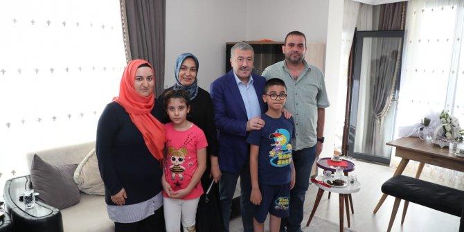 Emniyet Müdürü Çalışkan'dan, şehit ve gazi ailelerine bayram ziyareti