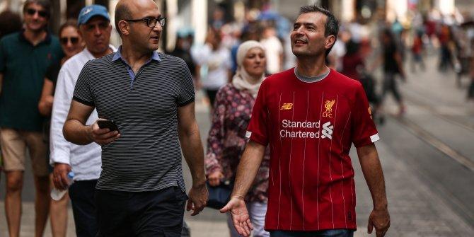 Chelsea taraftarları Beşiktaş'ta