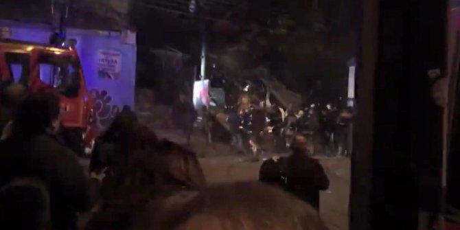 Şili'de bina çöktü: 6 ölü