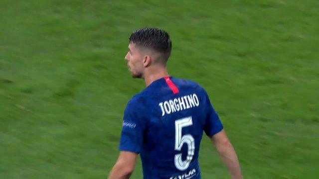 Chelseali Jorginho'nun ismi formaya yanlış yazıldı!