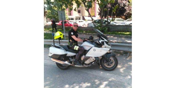 Trafik kazasında yaralanan polis şehit oldu