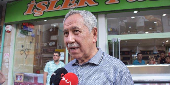 Bülent Arınç: Parti'den ayrılmalarını onaylamıyorum