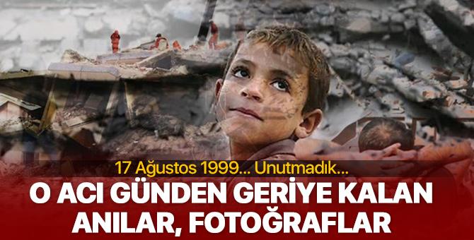 17 Ağustos 1999 Marmara Depreminden geriye kalan fotoğraflar, anı ve videolar