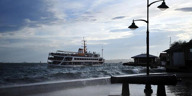 İstanbul'da tüm vapur seferleri durdu