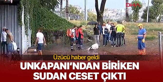 İstanbul Unkapanı'nda su tahliyesi sırasında 1 kişi ölü bulundu