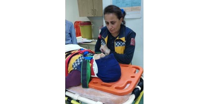 Samsun'da ambulans ile kamyonet çarpıştı: 2 yaralı