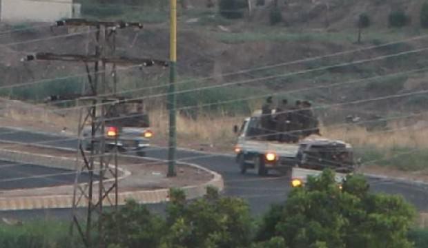 3 kamyonda 50 YPG'li terörist Mardin'den görüntülendi!