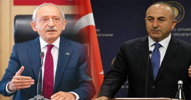 Çavuşoğlu'ndan Kılıçdaroğlu'na tepki…