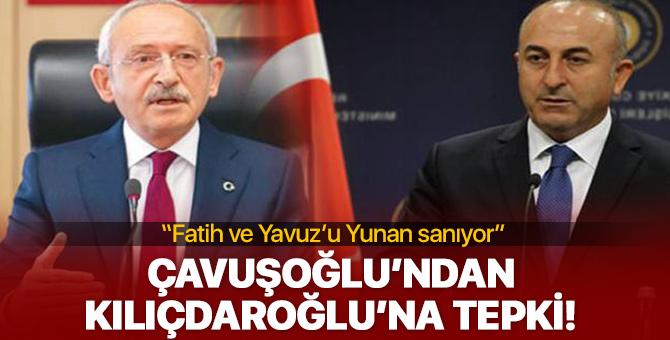 Mevlüt Çavuşoğlu'ndan Kemal Kılıçdaroğlu'na çok sert tepki!