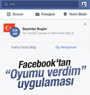 Facebook'tan 7 Haziran'a özel uygulama