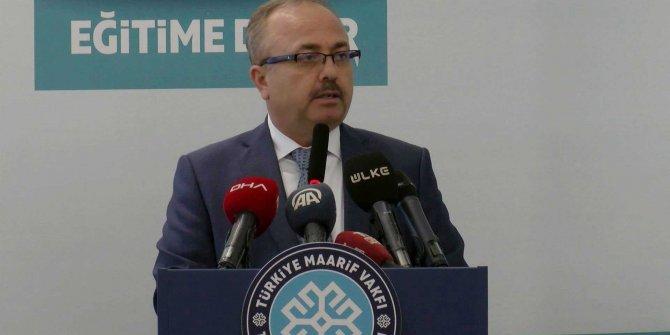 Prof. Dr. Akgün:Maarif Okulları aracılığıyla etkili bir kültür diplomasisi yürütülüyor