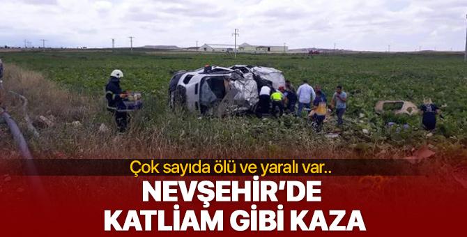 Nevşehir'de inanılmaz kaza! Çok sayıda ölü ve yaralı var...