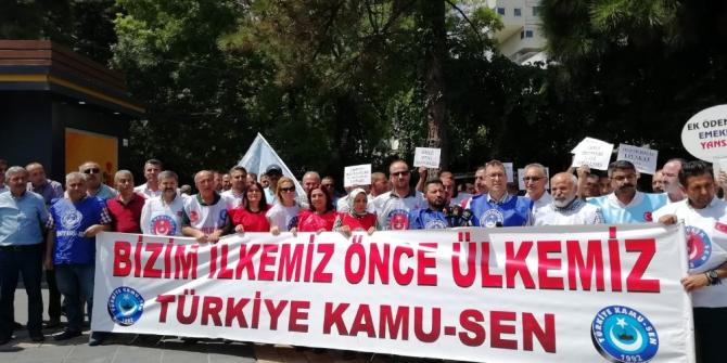 Türkiye Kamu-Sen Kayseri İl Temsilcisi Kamil Ünal: