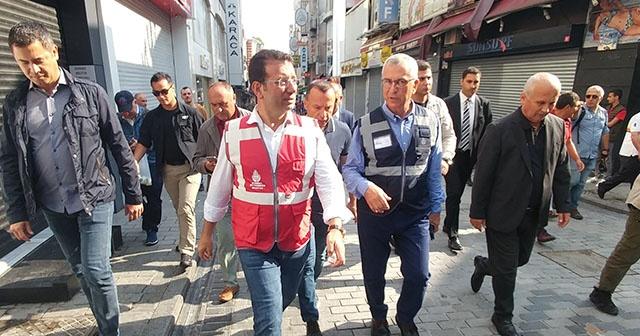 İstanbullu esnaflar sel mağduru, İmamoğlu ise 'poz verip' tatiline geri döndü!