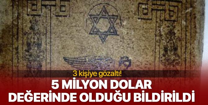 Türkiye'de ele geçirilen 5 bin yıllık kitap, 5 milyon dolar değerinde!
