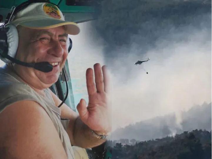 İzmir yangınındaki kahraman pilot hayatını kaybetti