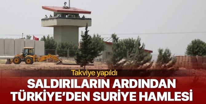 Saldırıların ardından Türkiye'den Suriye hamlesi