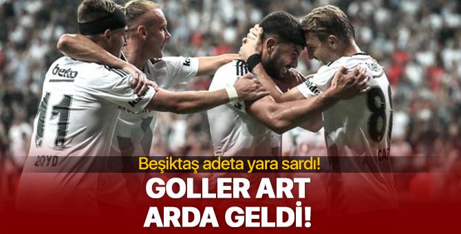 Beşiktaş - Göztepe maçında 3 gol!