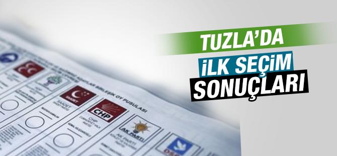Tuzla'da İlk Seçim Sonuçları