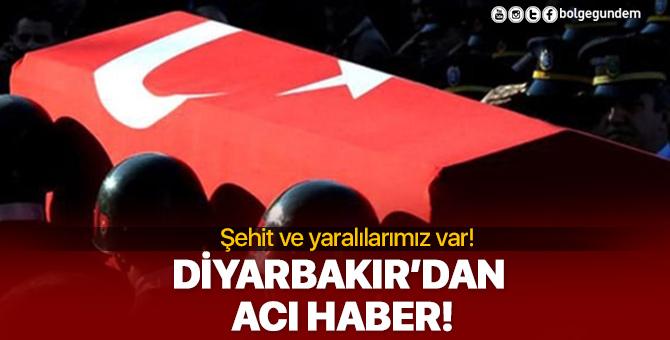 Diyarbakır'da zırhlı polis aracı devrildi: 1 polisimiz şehit, 5 polisimiz ağır yaralı