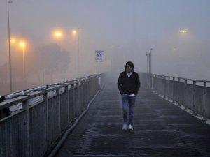 İstanbul sis'li bir sabaha uyandı