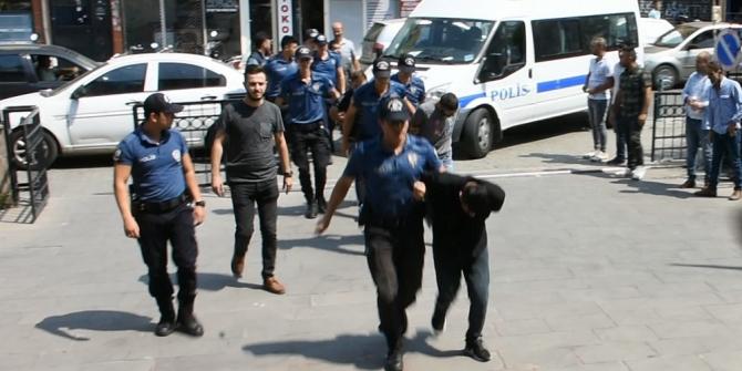 Hastaneden suçlu kaçırma operasyonunda 7 gözaltı