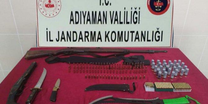 Adıyaman'da, yasa dışı mermi satan şüpheliye gözaltı