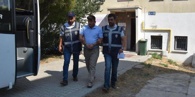 TIR'lardan 23 akü çaldı, kiralık otomobille gittiği Antalya'da yakalandı