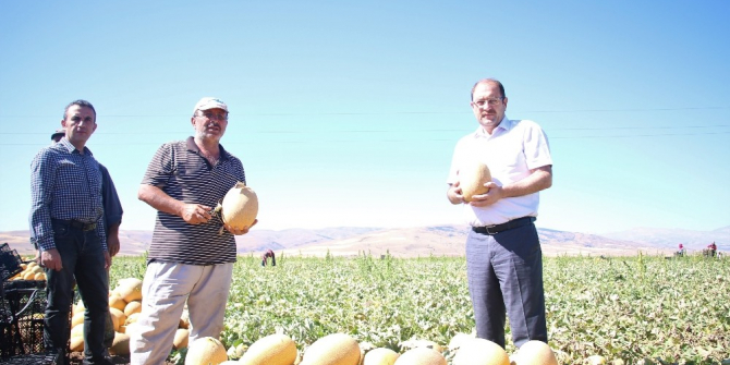 Erzincan'da tarım sektörüne yatırımlar büyük bir ivme kazanmaya başladı