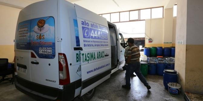 """Büyükşehir, evlerden """"Bitkisel Atık Yağ"""" toplama kampanyası başlattı"""