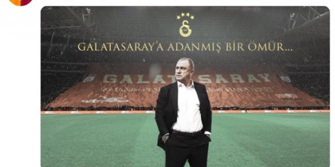 Galatasaray'dan Fatih Terim'e doğum günü kutlaması