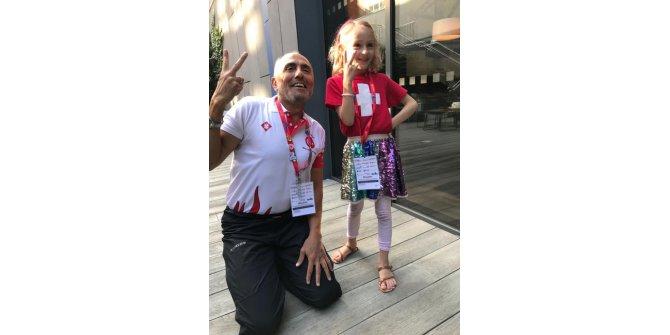 Kutsal bağış için Dünya Transplant Olimpiyatları'nda yarıştı