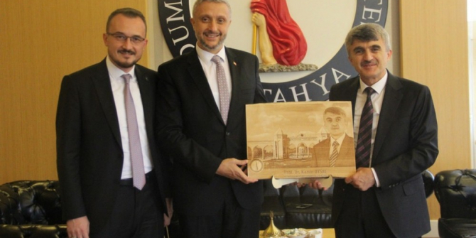 Simav Belediye Başkanı Biçer'den Rektör Uysal'a ziyaret