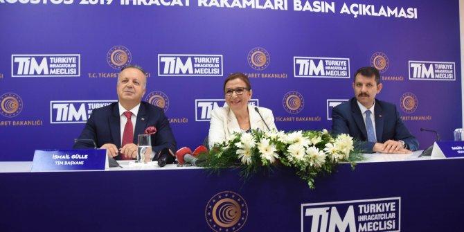 Ağustos ayı ihracat rakamları Sivas'ta açıklandı