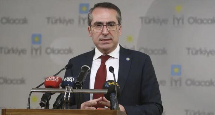 İYİ Parti Genel Başkan Yardımcısı Hasan Seymen istifa etti!