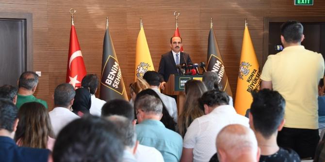 """Başkan Altay: """"Konya, dünyanın marka şehirlerinden bir haline gelecek"""""""