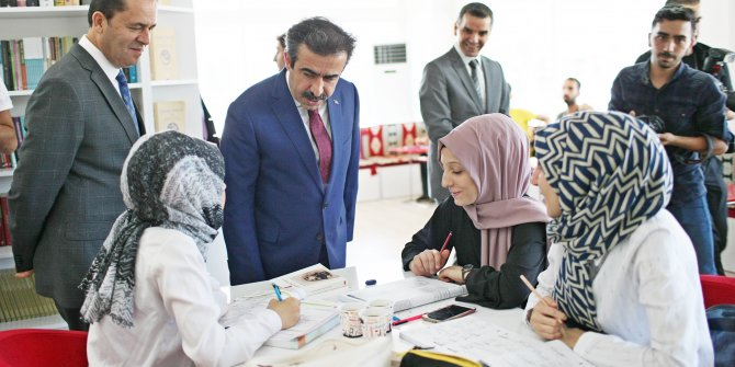HDP'li belediyenin işlevsiz hale getirdiği Millet Kıraathanesi yeniden faaliyete geçti