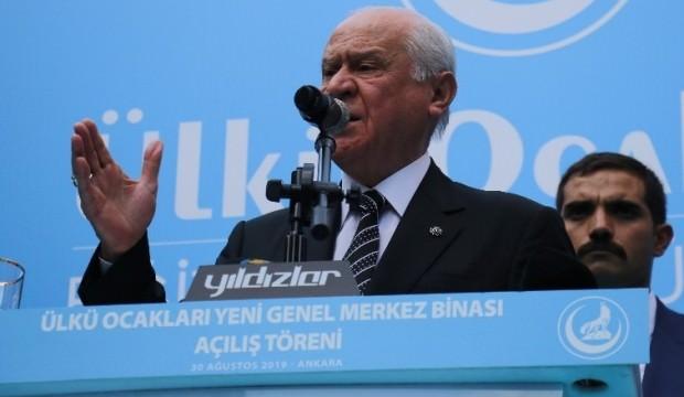 MHP lideri Devlet Bahçeli'den sert sözler: Onları ziyaret etmiyor ama...
