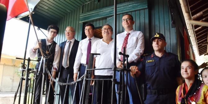 5 Eylül kutlamalarına Gıdı Gıdı Treninde devam edildi