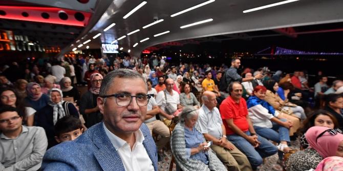 Üsküdar Valide Sultan Gemisi'nde musiki konserine yoğun ilgi