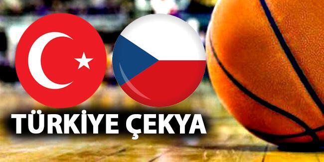 Türkiye Çek Cumhuriyeti basketbol maçı hangi kanalda | Türkiye Çek Cumhuriyeti maçı canlı izleme linki
