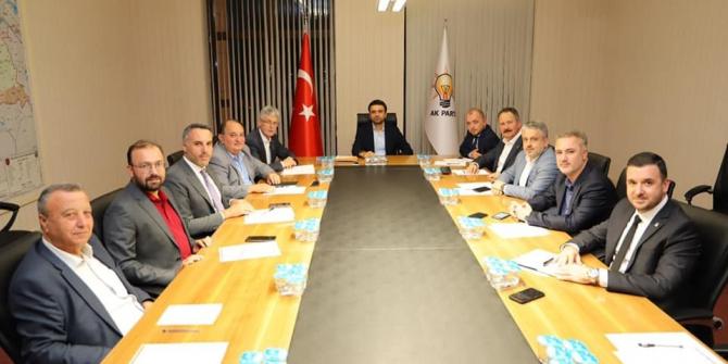 AK Parti Marmara Bölgesi İl Başkanları Bölge Toplantısına İl Başkanı Karabıyık'ta katıldı