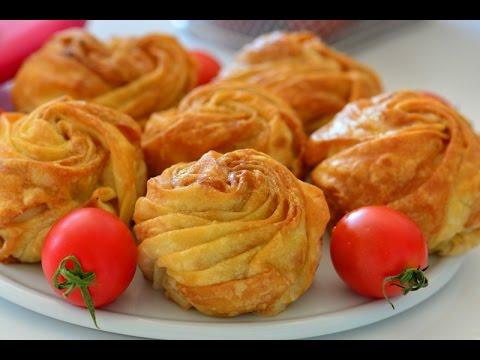 Gonca Gül Böreği nasıl yapılır? Gelinim Mutfakta Gonca Gül Böreği tarifi