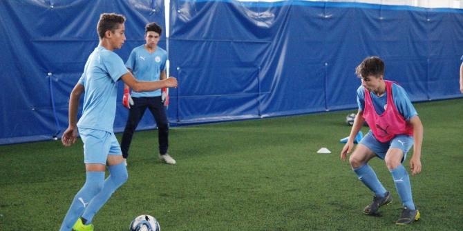 İki Türk genci dünya devi Manchester City'nin kampına katılmaya hak kazandı