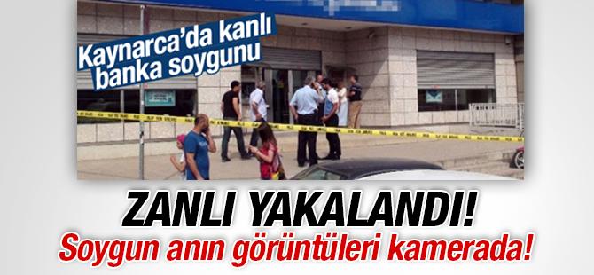 Kaynarca'daki İş Bankasını Soyan Soygucu Yakalandı