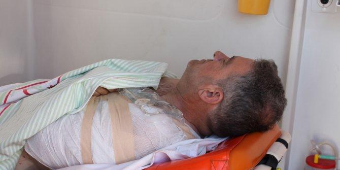 Mersin Büyükşehir Belediye Başkanı'nın danışmanı kaza yaptı: 3 yaralı (2)